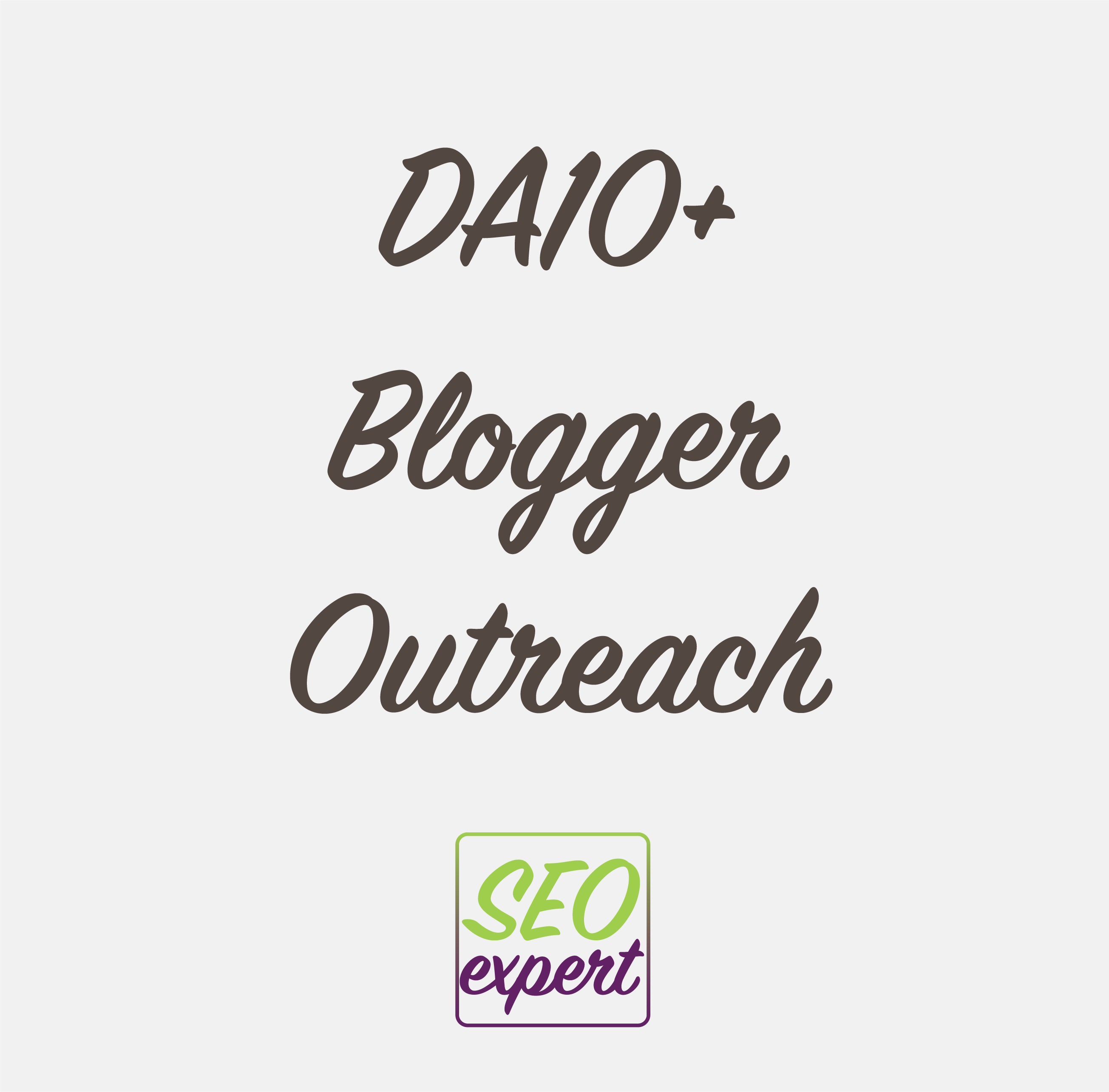 Blogger Outreach Services - Professional Service - DA40 and DA50+