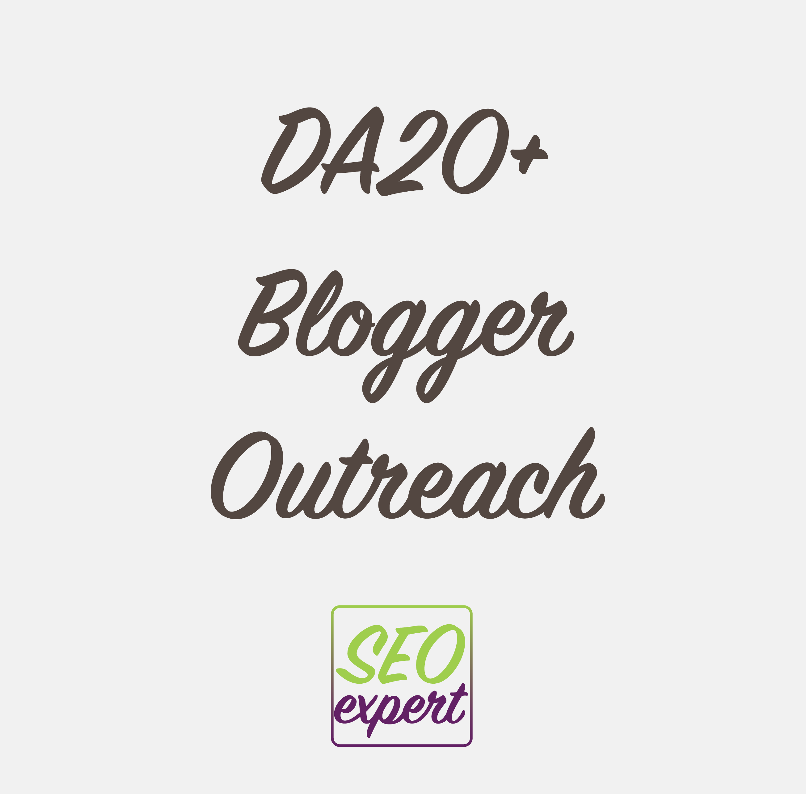 DA20 Blogger Outreach