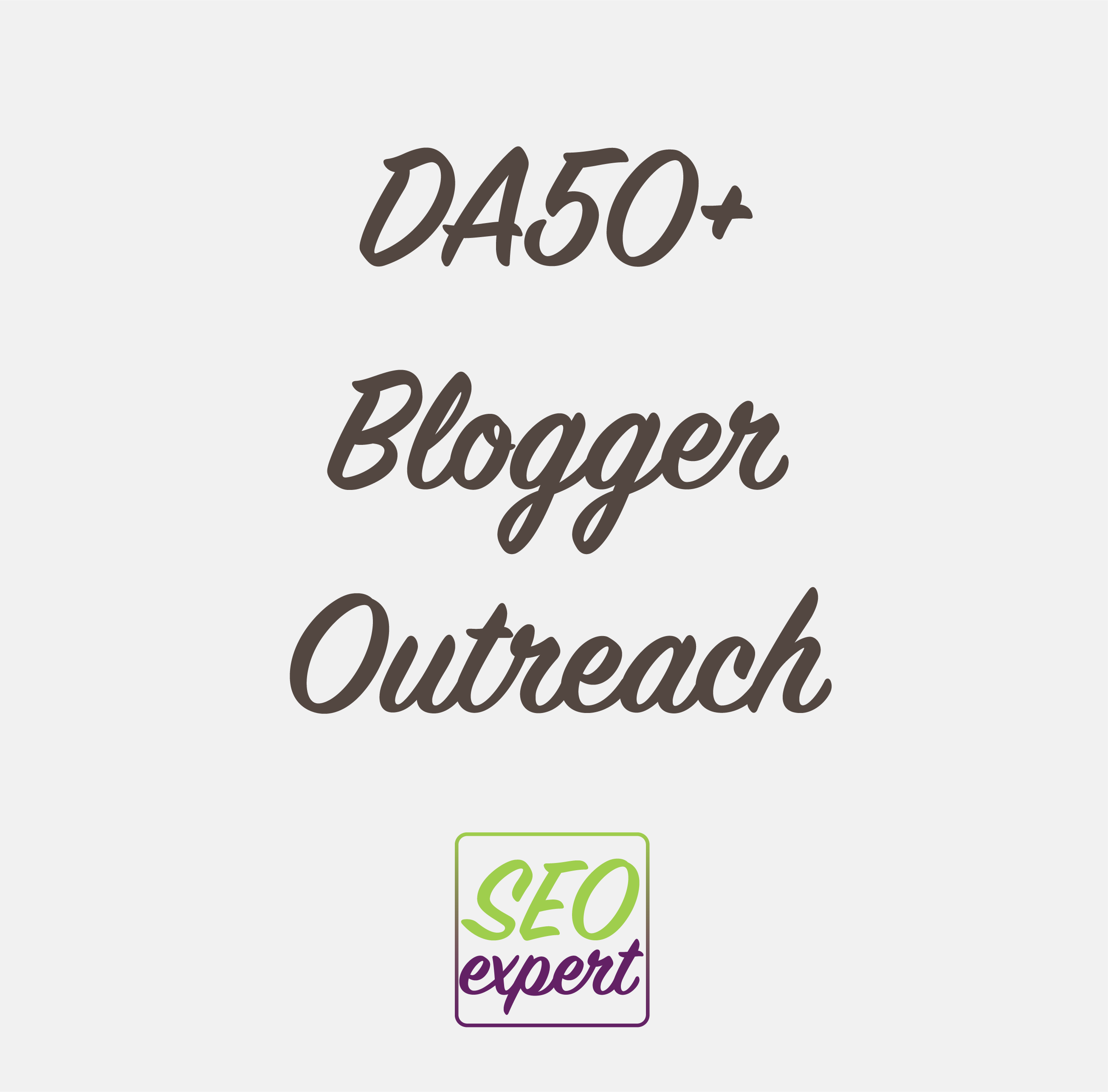 DA50 Blogger Outreach